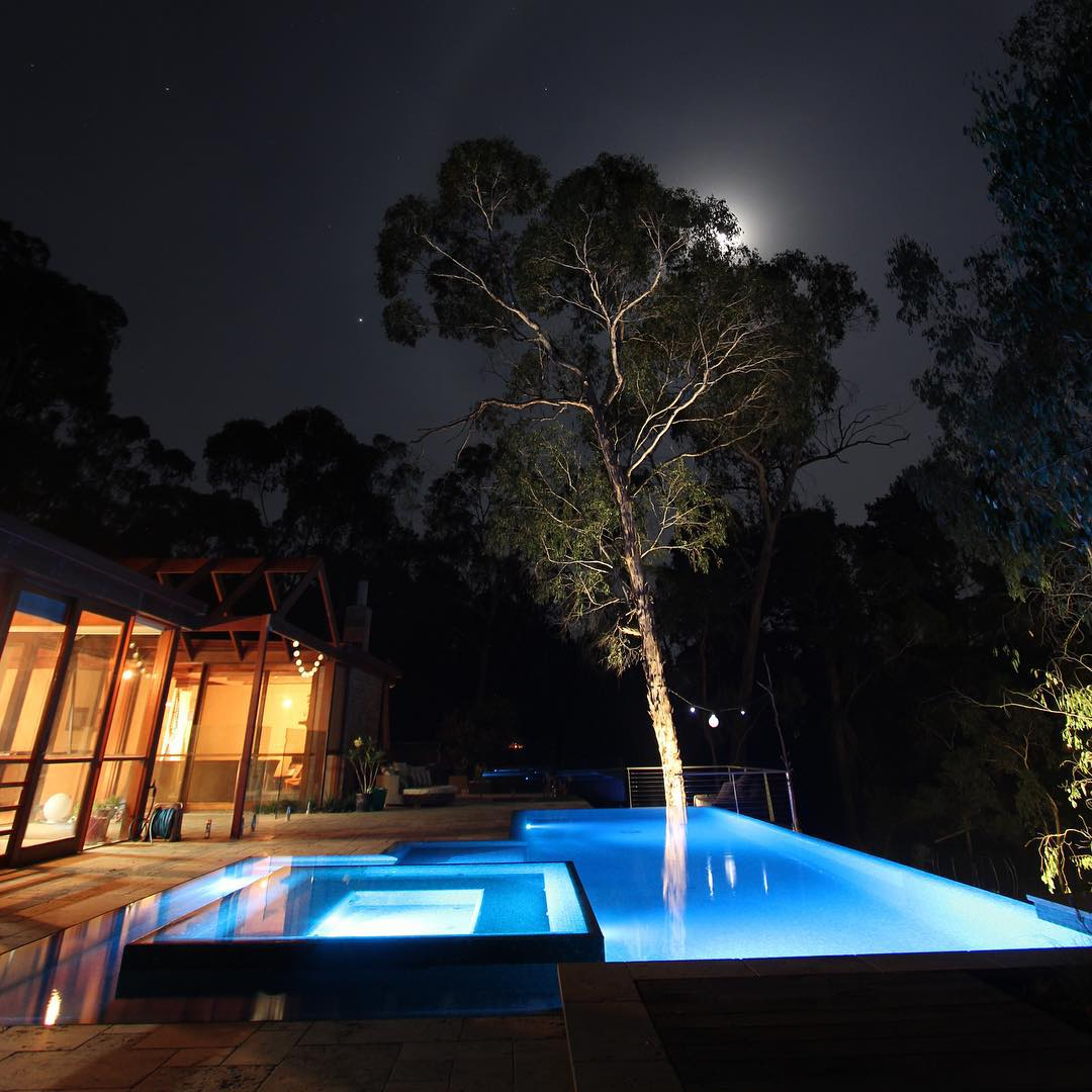 Spa Swimming Pool Lighting Design