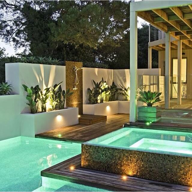 top swimming pool lighting design