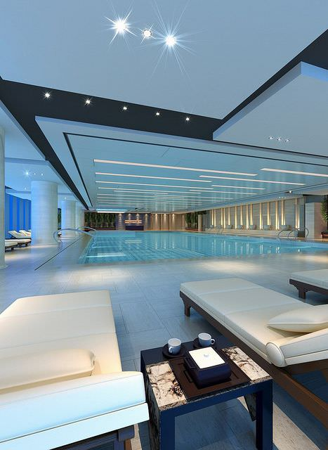 Westin Swimming Pool Lighting Design