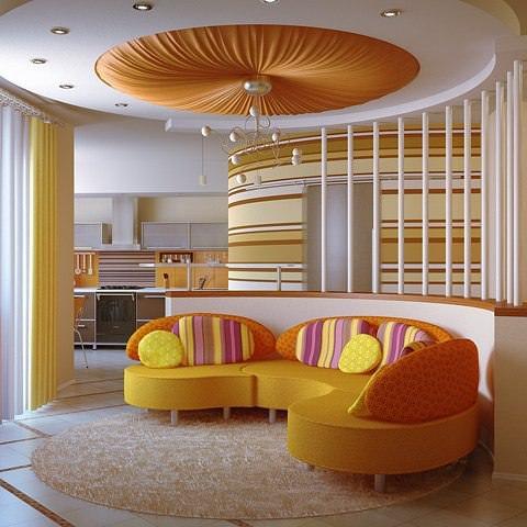 Pretty Living Room Interior Design