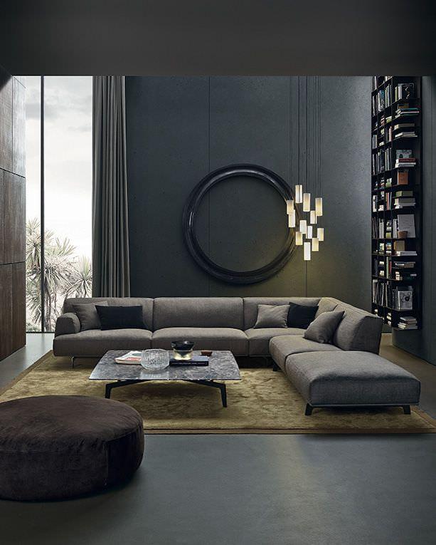 Shades Of Grey Living Room Interior Design