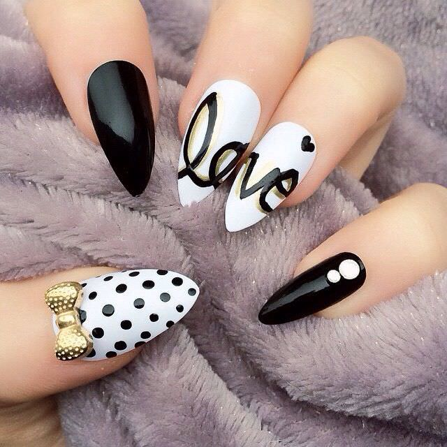Nails with bow designs images nail art and nail design ideas 30 bow nail designs nail designs design trends premium psd stiletto bow nail design prinsesfo images prinsesfo Images
