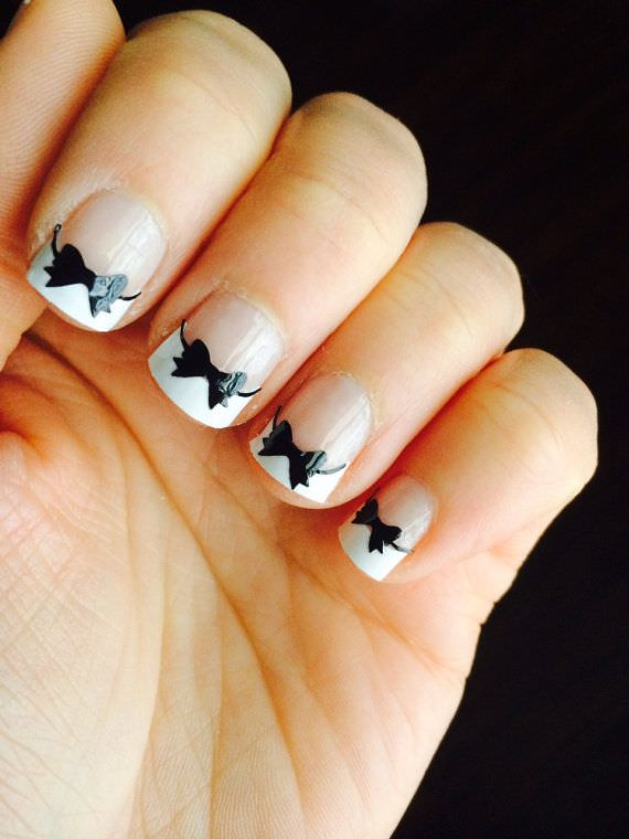 30 Bow Nail Designs Nail Designs Design Trends Premium Psd Vector Downloads