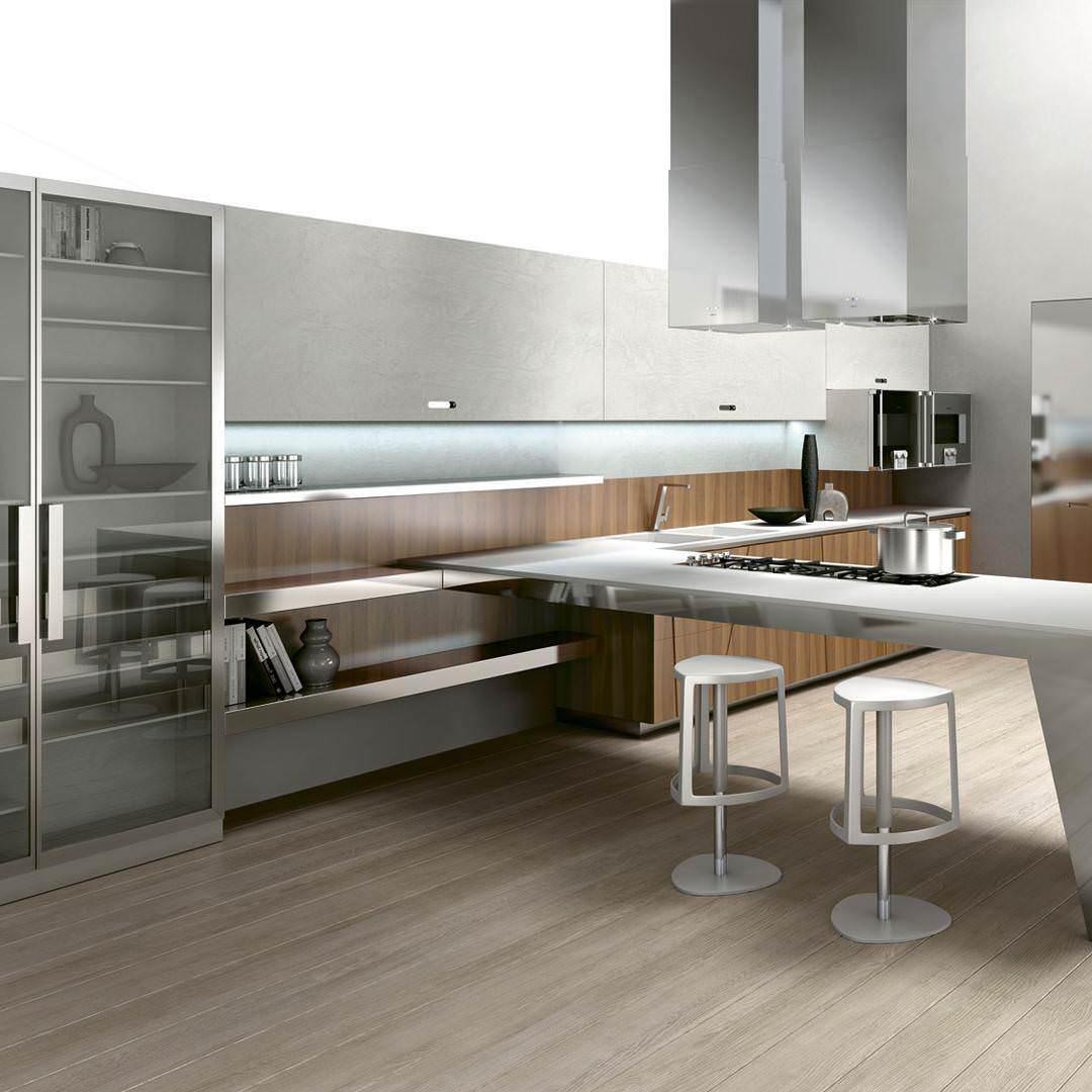 31 modern kitchen designs decorating ideas design for Beautiful modern kitchen designs