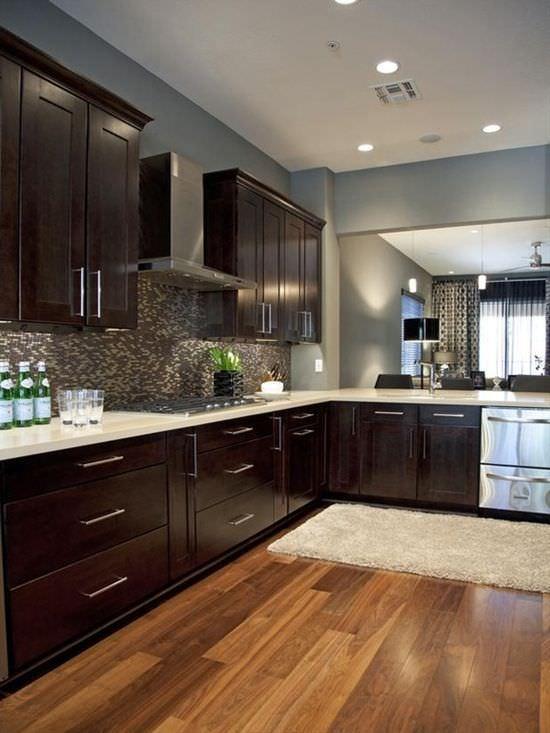 Espresso Modern Kitchen Design