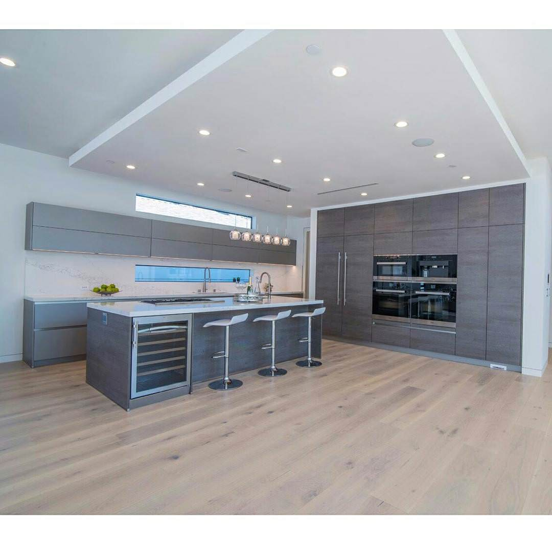 grey modern kitchen design