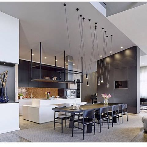 high light modern kitchen design