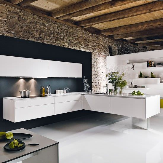 l shaped modern kitchen design