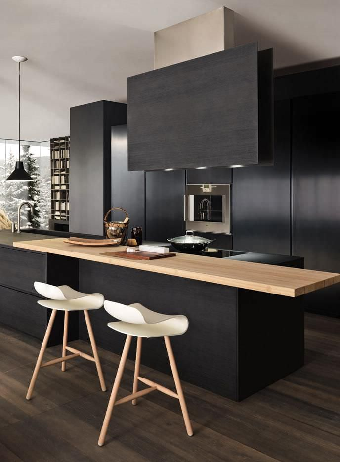 Pale Modern Kitchen Design