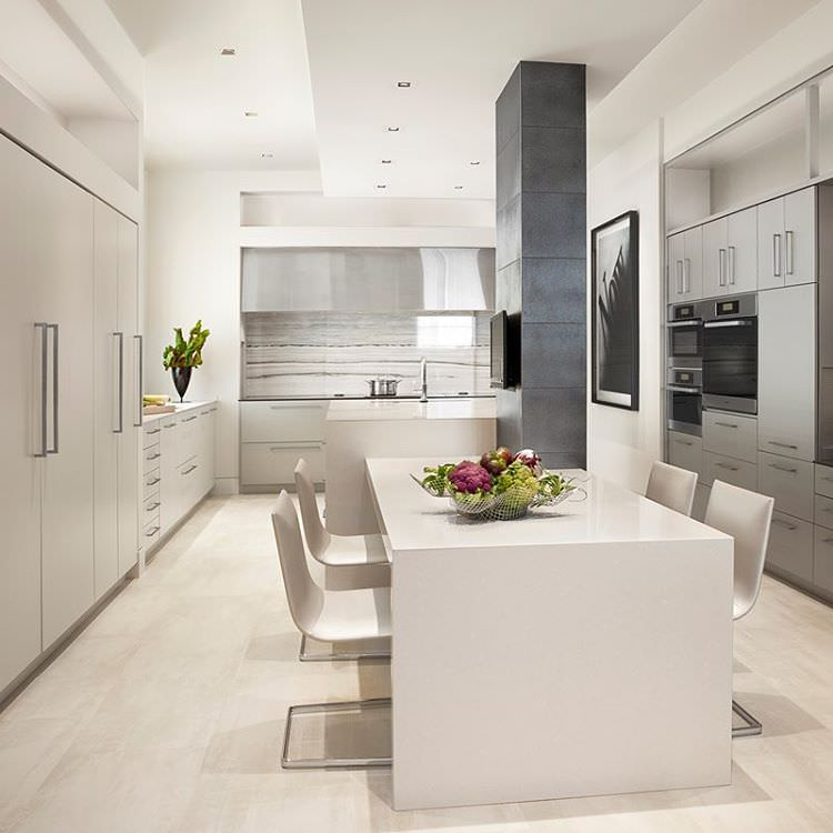 Pent House Modern Kitchen Design