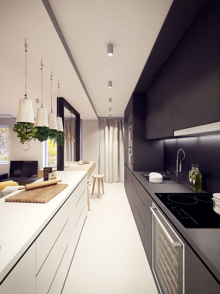 plaster lina modern kitchen design