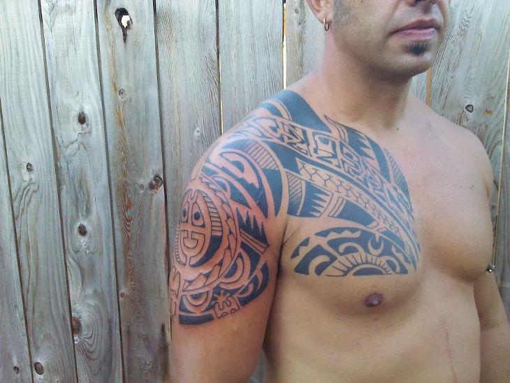 Classic Polynesian Tattoo