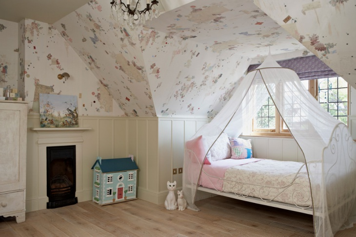dreamy girls canopy bed frame