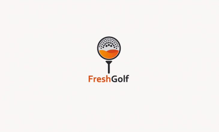 Creative Golf Ball Logo