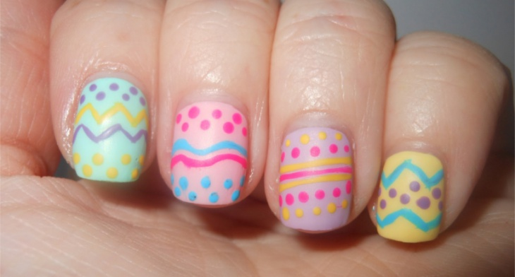 img - 26+ Easter Nail Art, Designs, Ideas Design Trends - Premium PSD