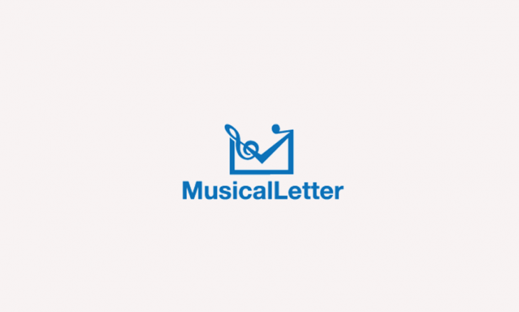 Musical Letter Logo Design