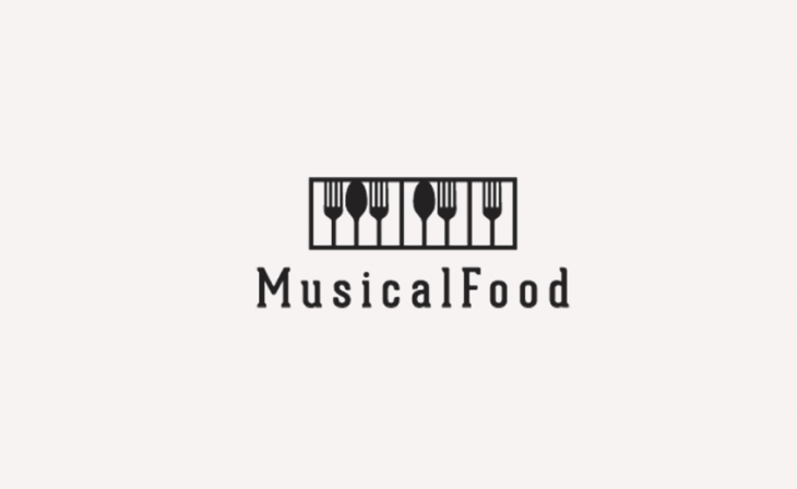 Music Logo Design for Restaurant