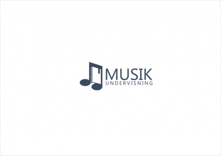 Music Book Logo Design