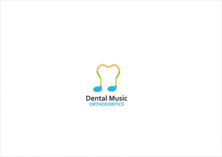Dental Music Logo Design
