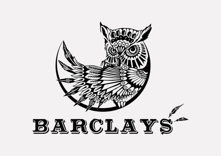 barclays owl logo design
