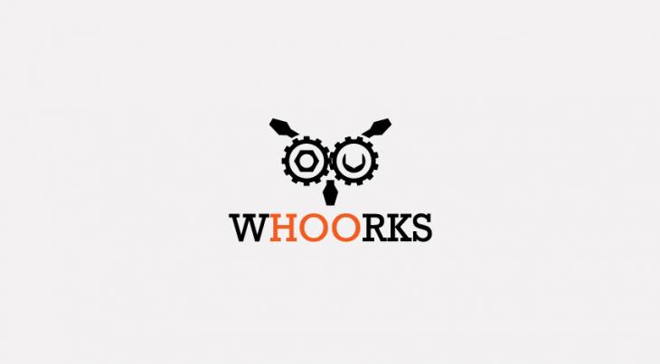 creative owl logo design