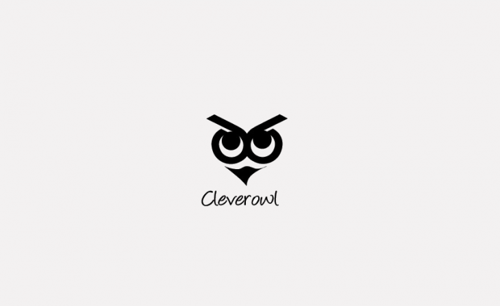 owl logo illustration design