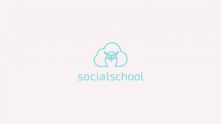 owl logo design for school
