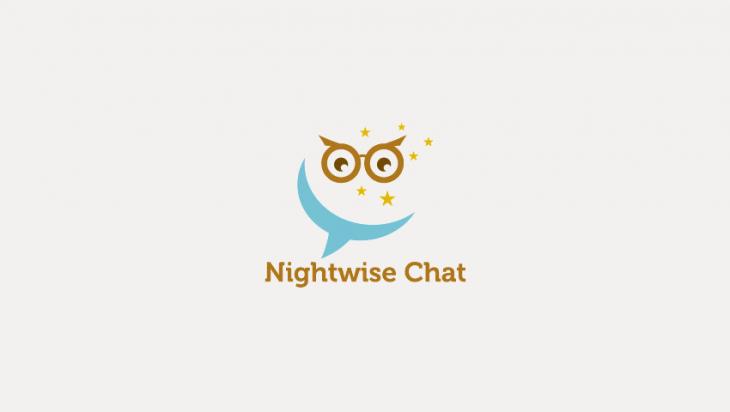 owl logo for mobile app