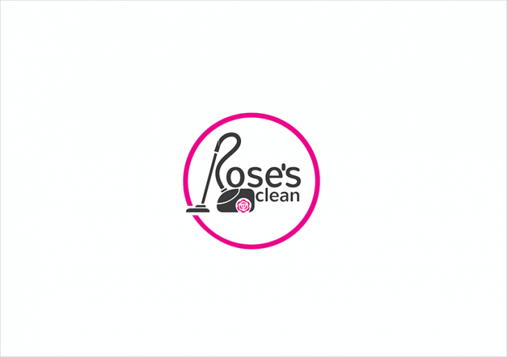 rose concept logo design