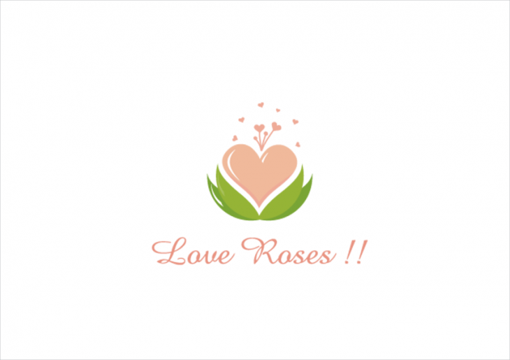 love roses logo design