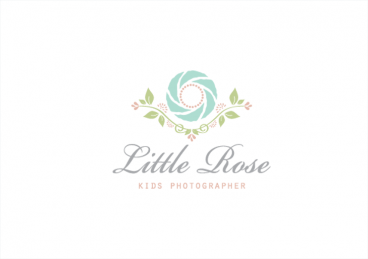 Kids Photographer Logo Design