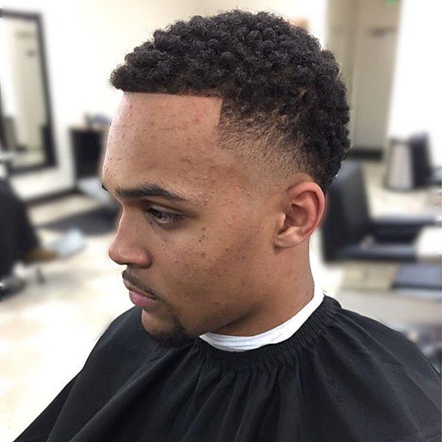 afro razor fade hair