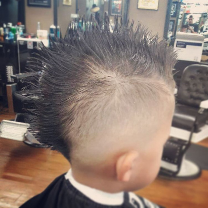 high fauxhawk skin fade haircut