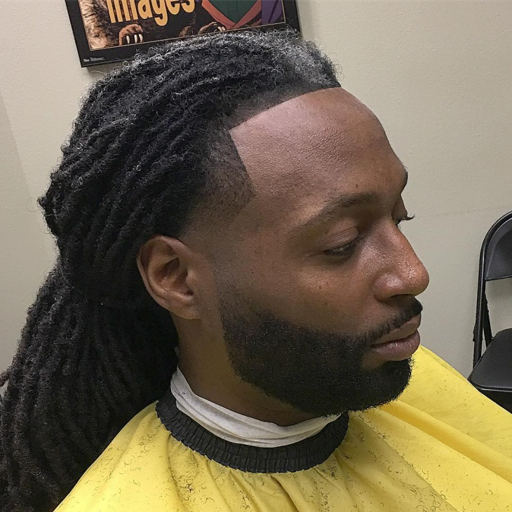 twisted taper fade