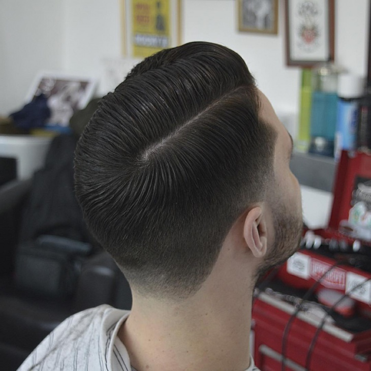 side-part-taper-fade