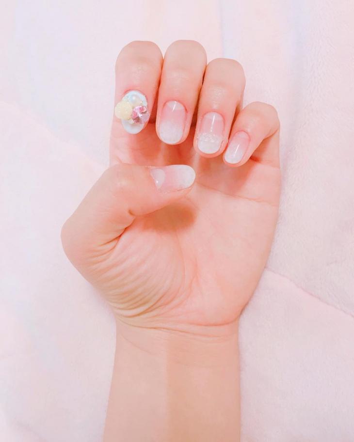 3d gel nail art idea