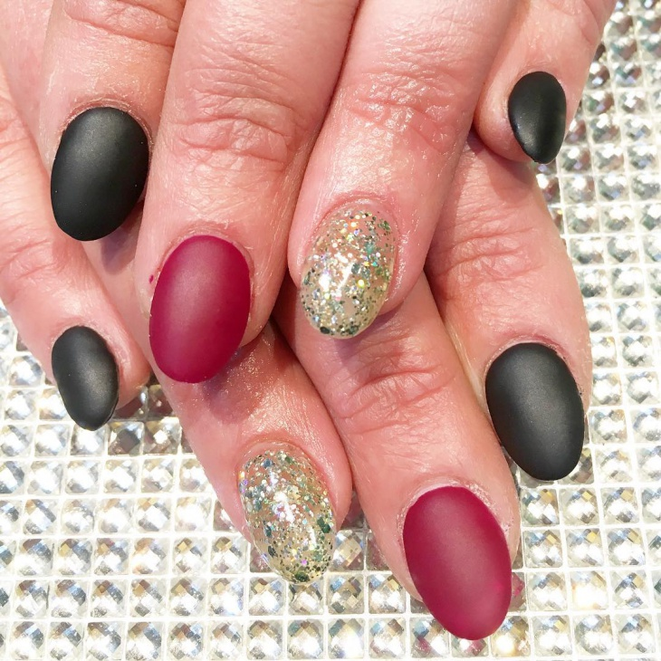 mix and match gel nails