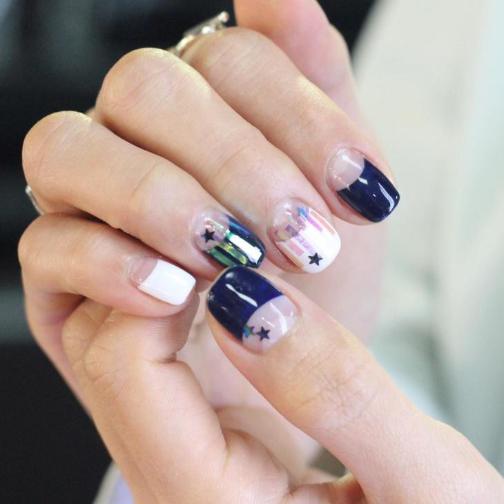 Glossy Nail Art Manicure