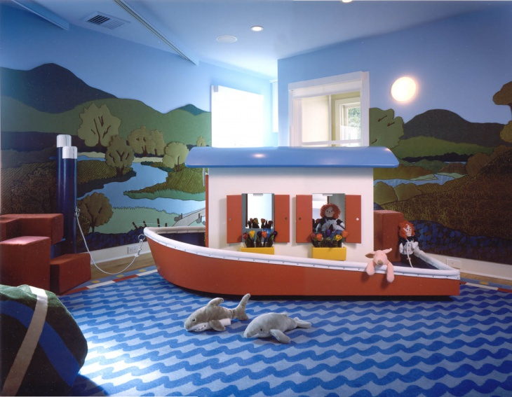 Kids Playroom Wall Mural