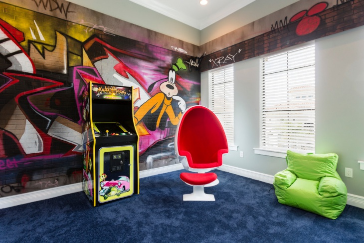 Disney Inspired Kids Playroom
