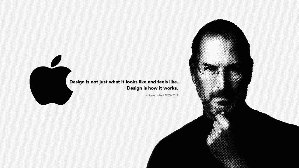 Steve Jobs Quotation on Design