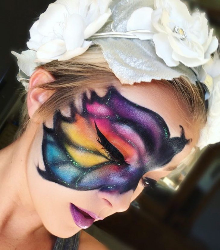 water-color-butterfly-eye-makeup