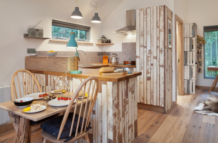 rustic tiny kitchen design