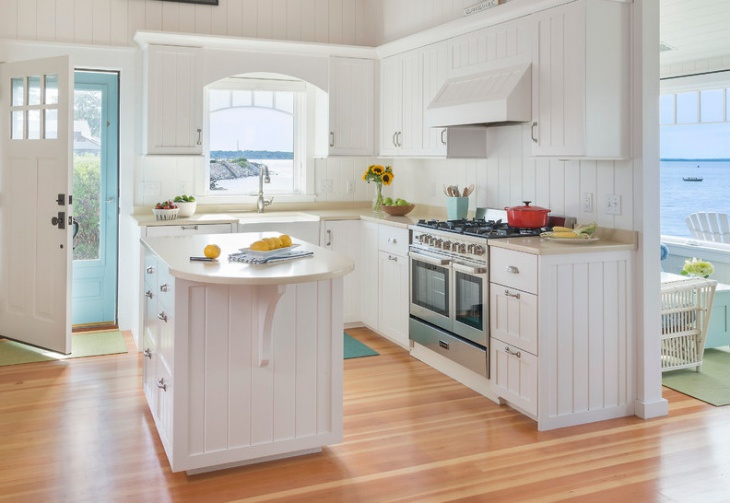 cottage style tiny kitchen
