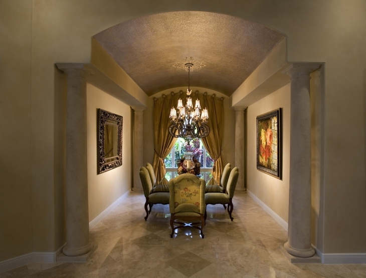 23+ Dining Room Ceiling Designs, Decorating Ideas | Design ...