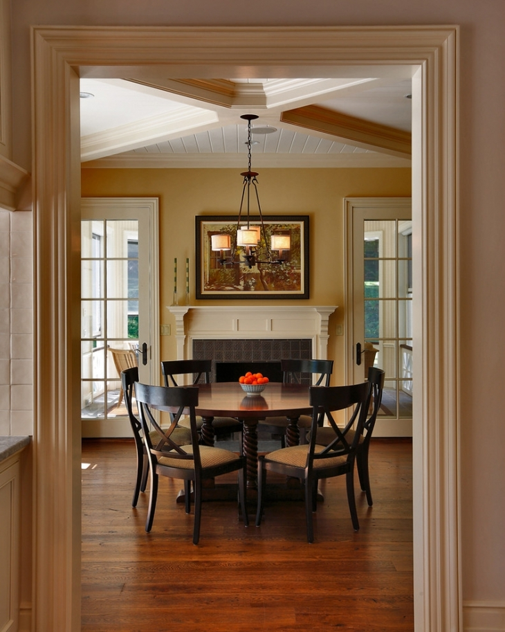 Small Dining Room Ceiling Design