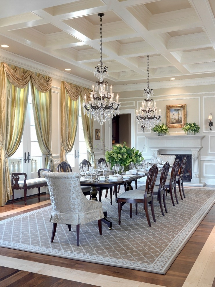 Dining Room Tray Ceiling Design