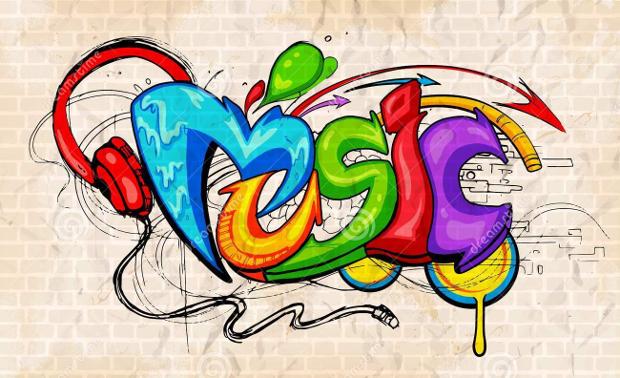graffiti-style-music-background