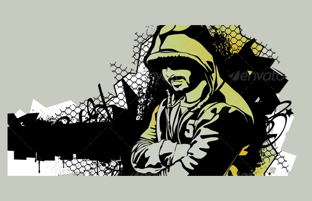 gangster-graffiti-background