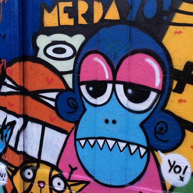 graffiti-monkey-background